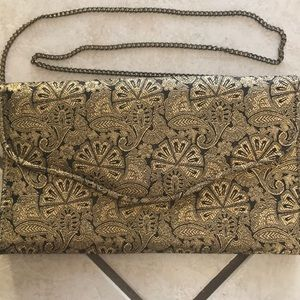Handbags - Elegant vintage brocade evening bag